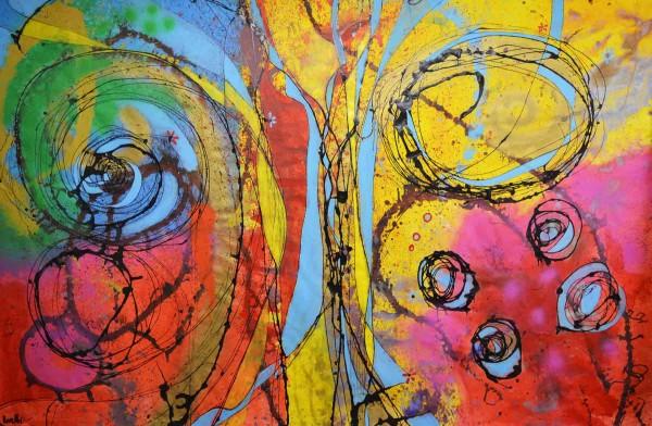 Abstrakte Gemälde: Sheha