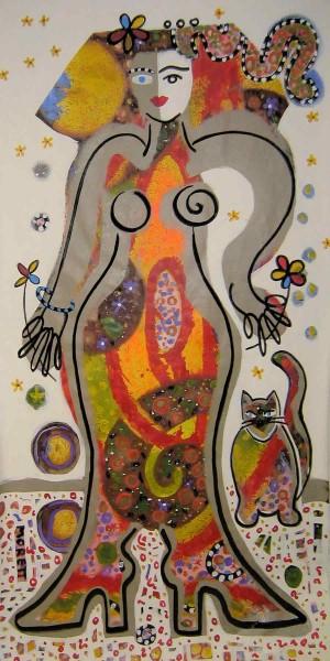 Gemälde Frauen kaufen: Lady 1