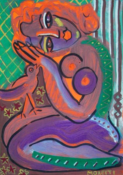 Acrylbilder: Figurative Kunst: Whisper