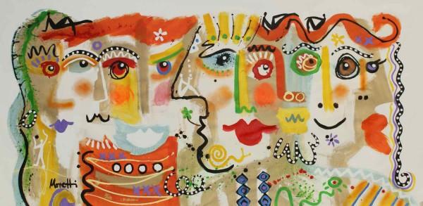 Kunstwerke: Gesichter 33