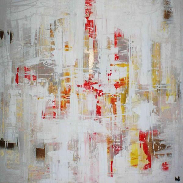 Abstrakte Gemälde: Quadro