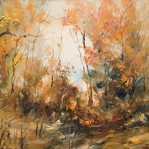Gemälde Landschaften: Warmer Tag