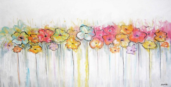 Blumen Gemälde: Ölbilder: Primavera