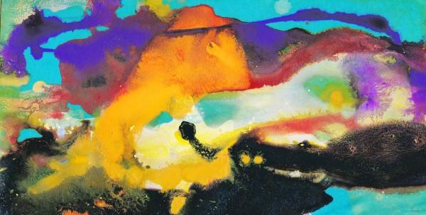 Aquarelle kaufen: Kunstbilder: Leichtigkeit