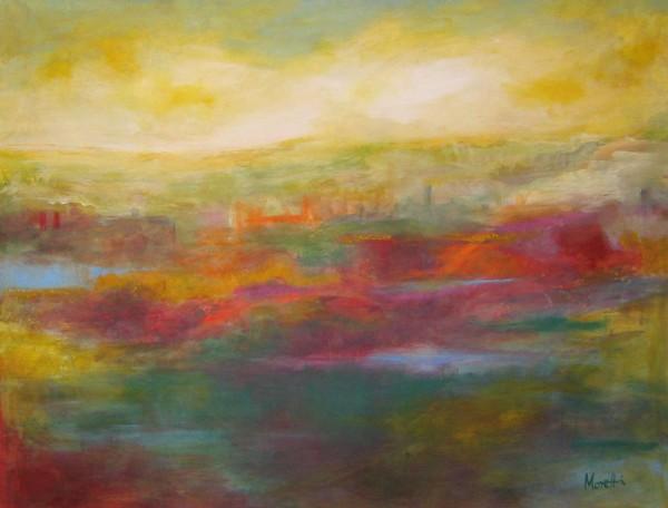 Abstrakte Gemälde: Schöner Traum