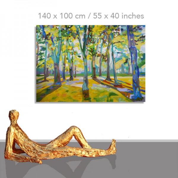 Grüne Lust: 140 x 100 cm