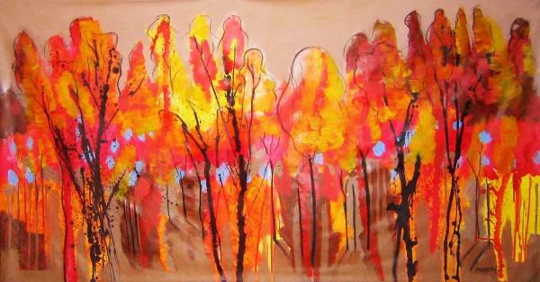 Ölgemälde Landschaften: Autumn