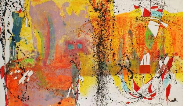 Abstrakte Gemälde: Philosophie