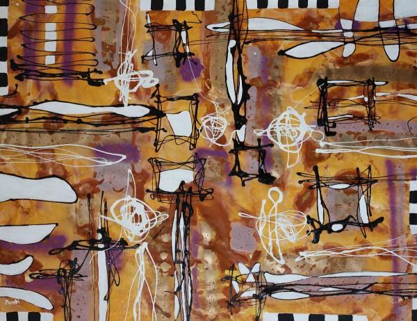 Abstrakte Gemälde: Canella