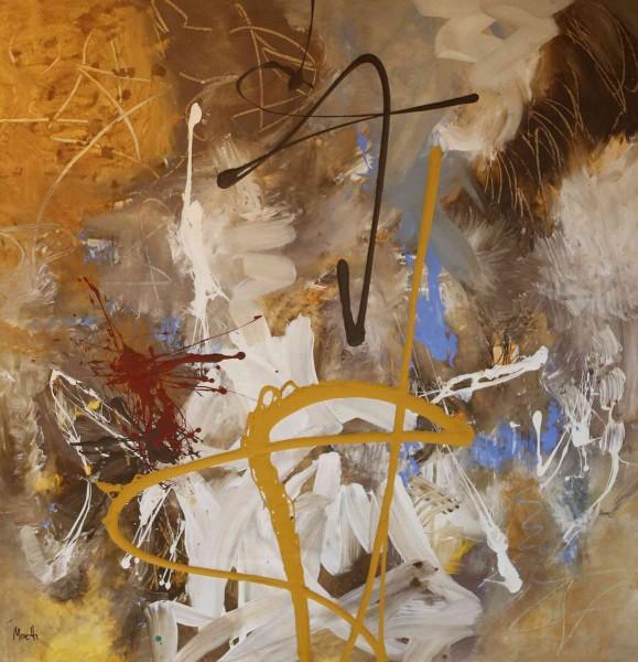 Abstrakte Gemälde: Catalina