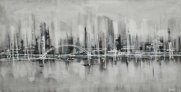 Skyline Bilder: Ölbilder: Urbane Legende