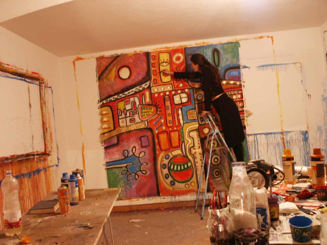 Künstler Malerei Gegenwart